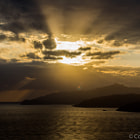 Постер, плакат: Sunset Elba Island