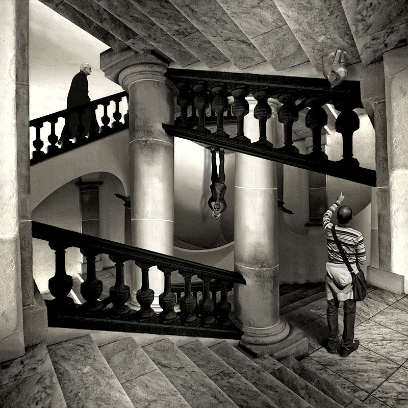 Photograph Tribute to Escher by Carlos Gotay on 500px