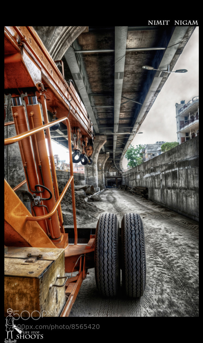Photograph Construction Site.... by Nimit Nigam on 500px