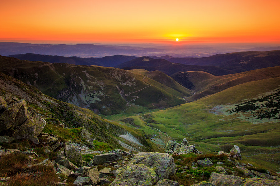 Sunrise over Tarcu Mountains by Sebastian Puraci on 500px.com