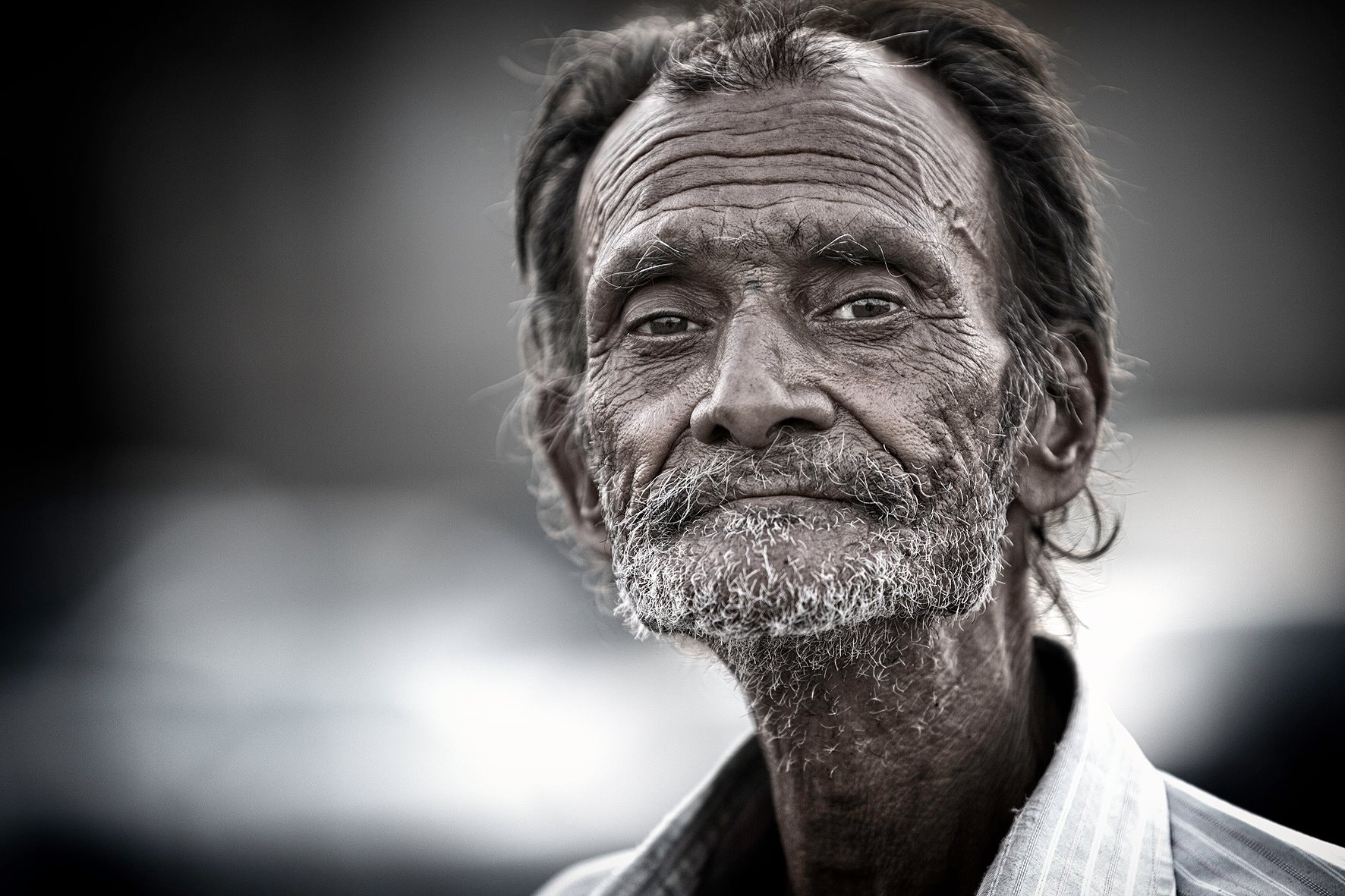 Photograph Face on the Street by Khalid Aziz on 500px