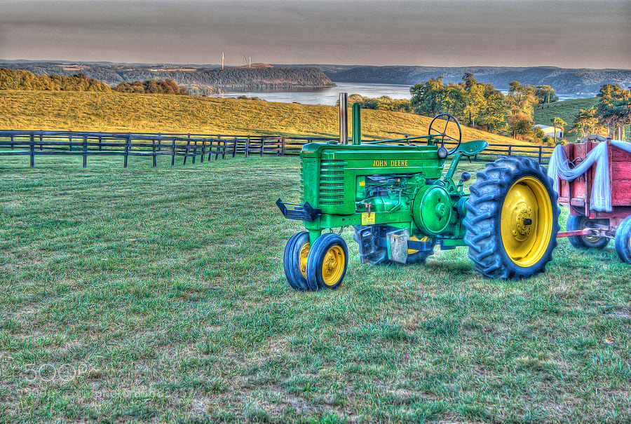 The Wedding Tractor
