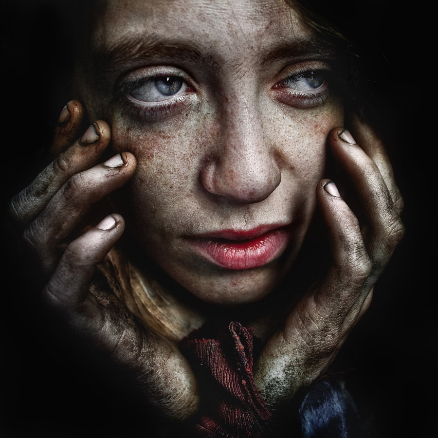 Photograph Michelle. by Lee Jeffries on 500px