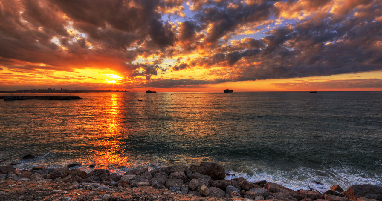 Photograph Sunset over Beirut by Edward Younan on 500px