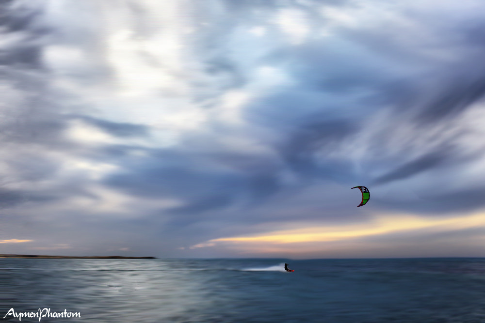 Photograph kite surfing by aymen M . H on 500px