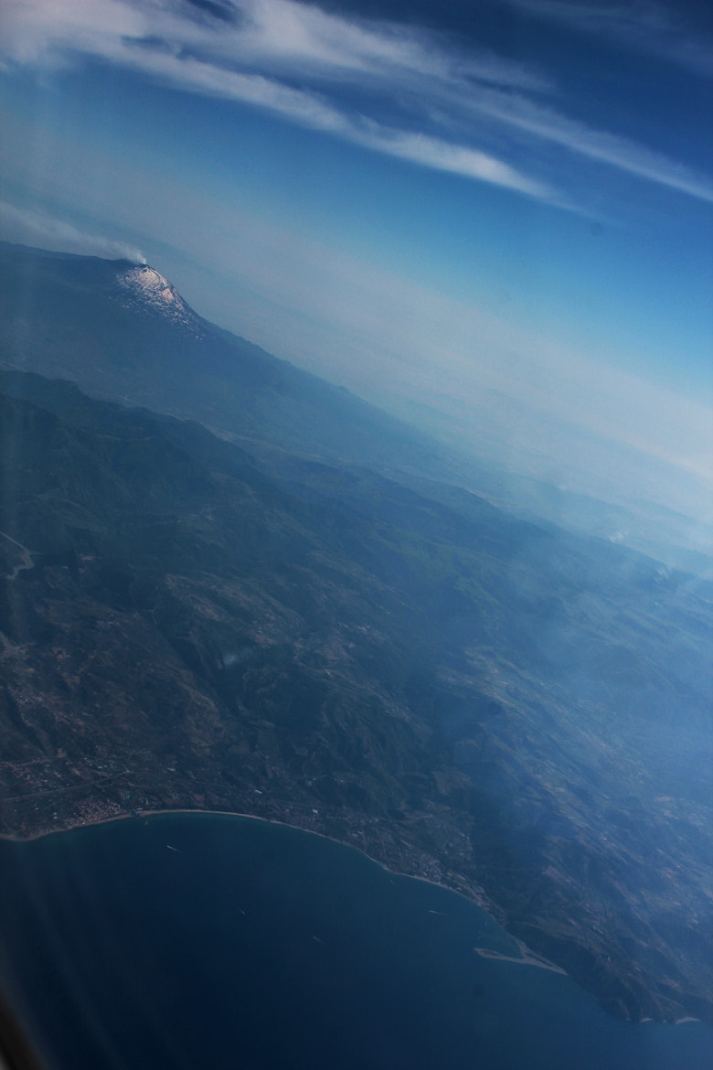 Photograph Etna seen from the sky by Elisabetta Serra on 500px