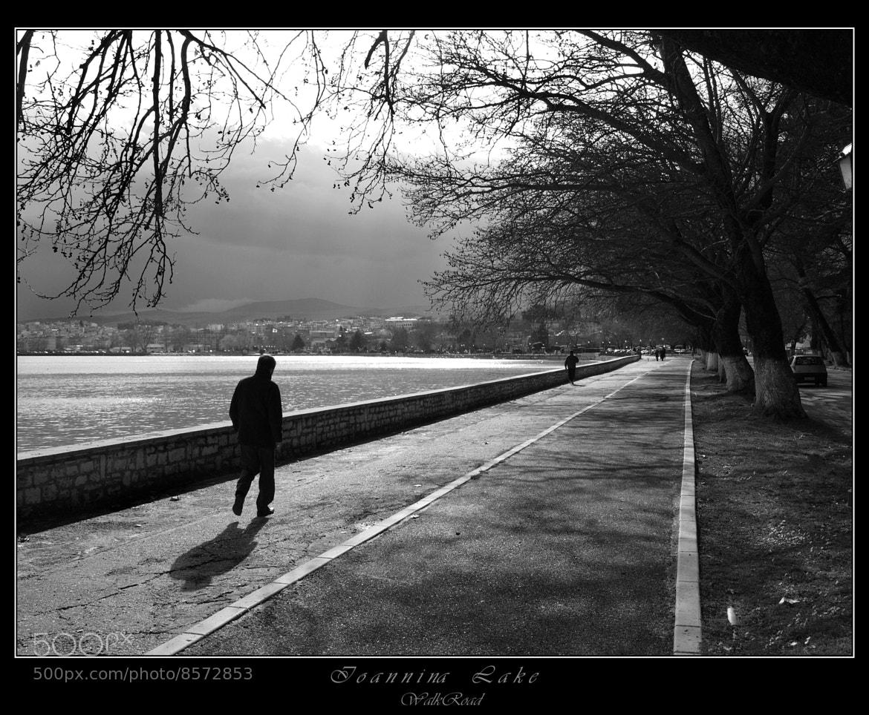"Photograph Pamvotida Lake (Ioannina) "" WalkRoad"" by Kounoupis Anastasios  on 500px"