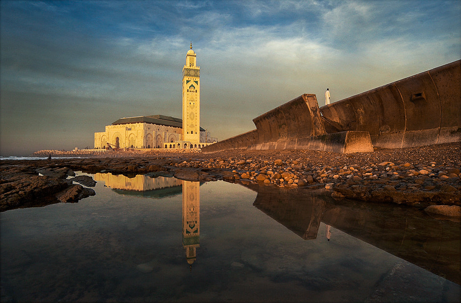 Photograph Mosque of Hassan II by Mark Keelan on 500px