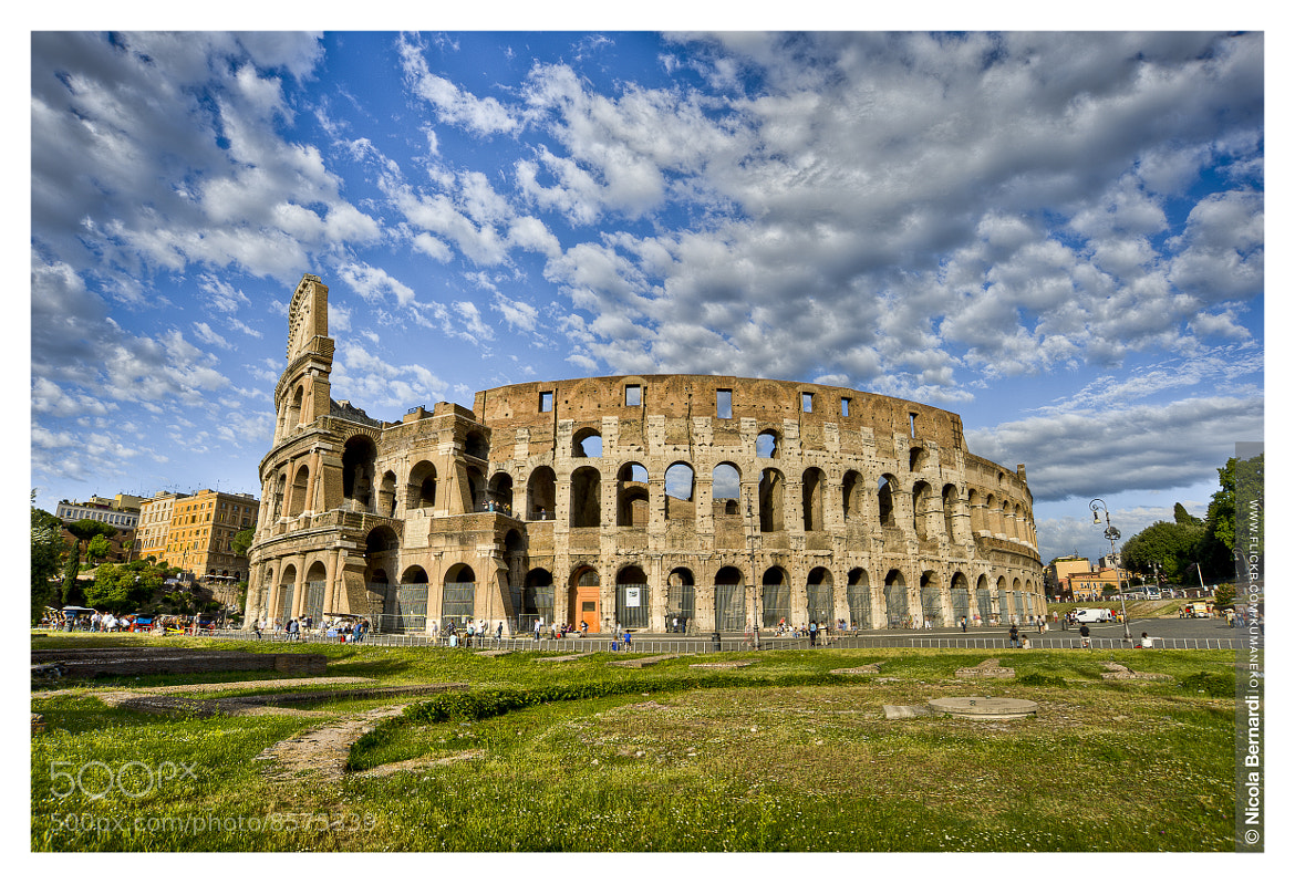 Photograph Coliseum View, Rome by Nicola  Bernardi  on 500px