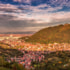 View of Brasov City, Romania