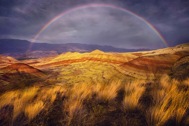 Photograph Rainbow Hills by Marc  Adamus on 500px