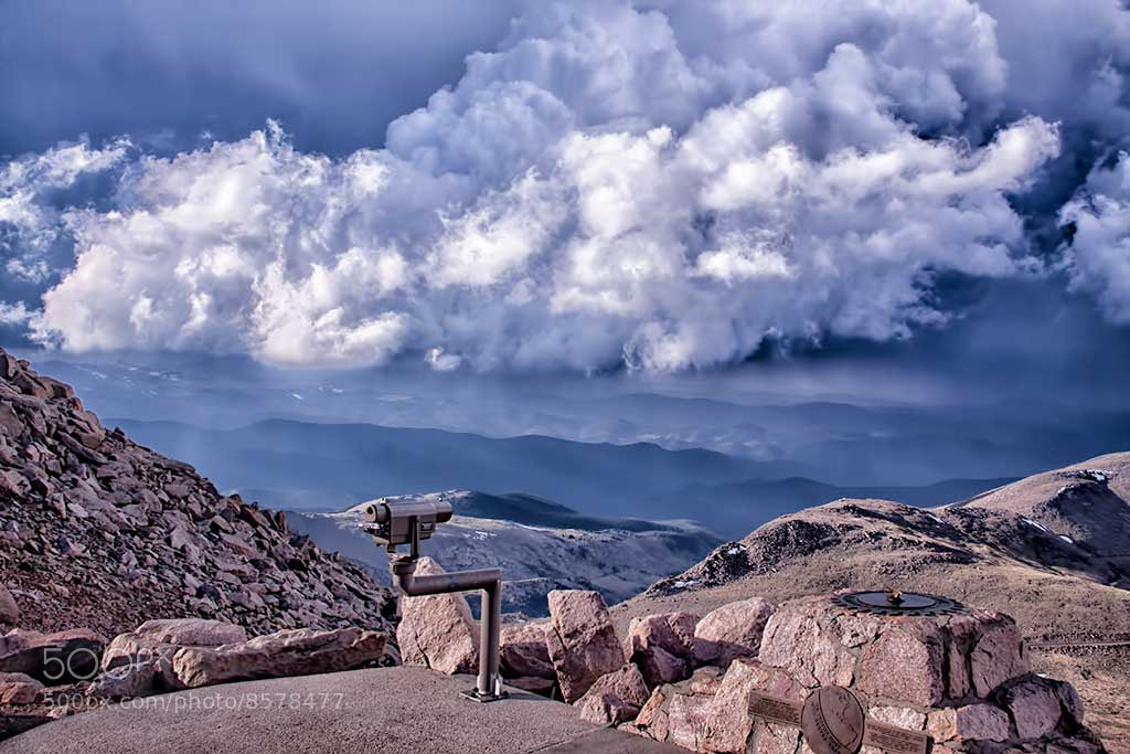 Photograph Clouds at the Summit by Kristal Kraft on 500px