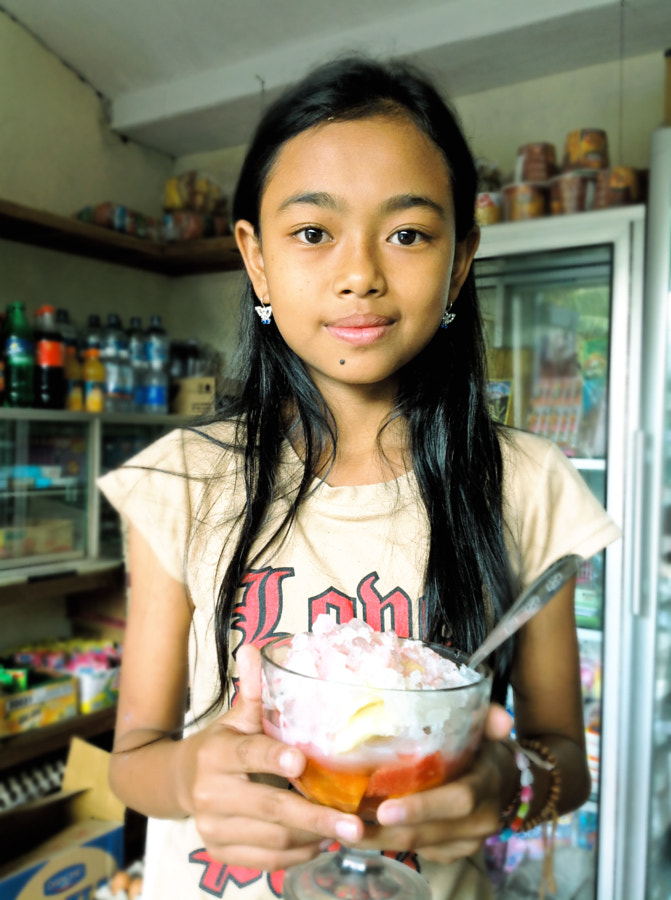 Photograph bali girl ice juice by Denis Kasianov on 500px