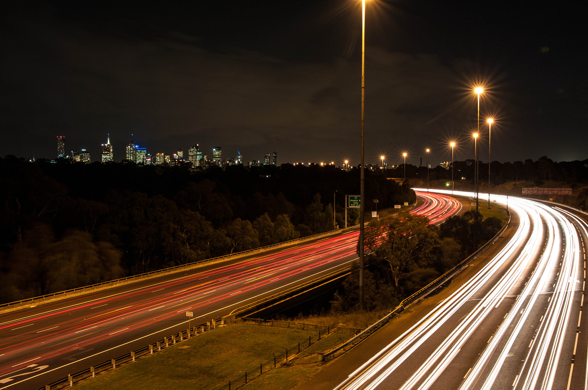 Photograph Car lights by Tony Frodsham on 500px