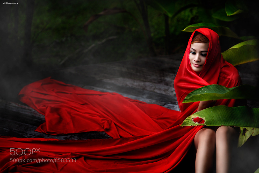 Photograph red riding hood by Lau Yew Hung on 500px