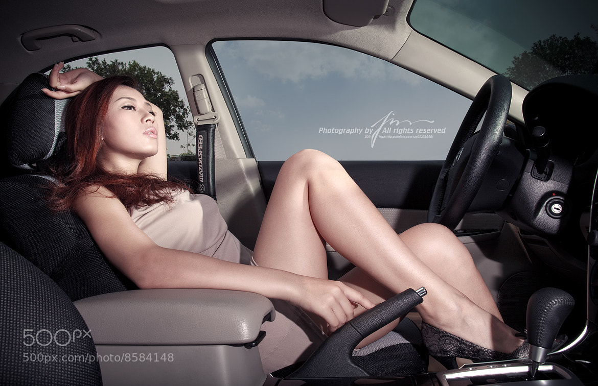Photograph car girl by jim yang on 500px