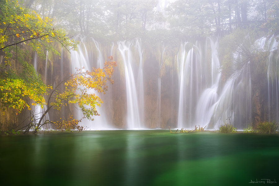 Photograph Misty Falls by Andreas Resch on 500px