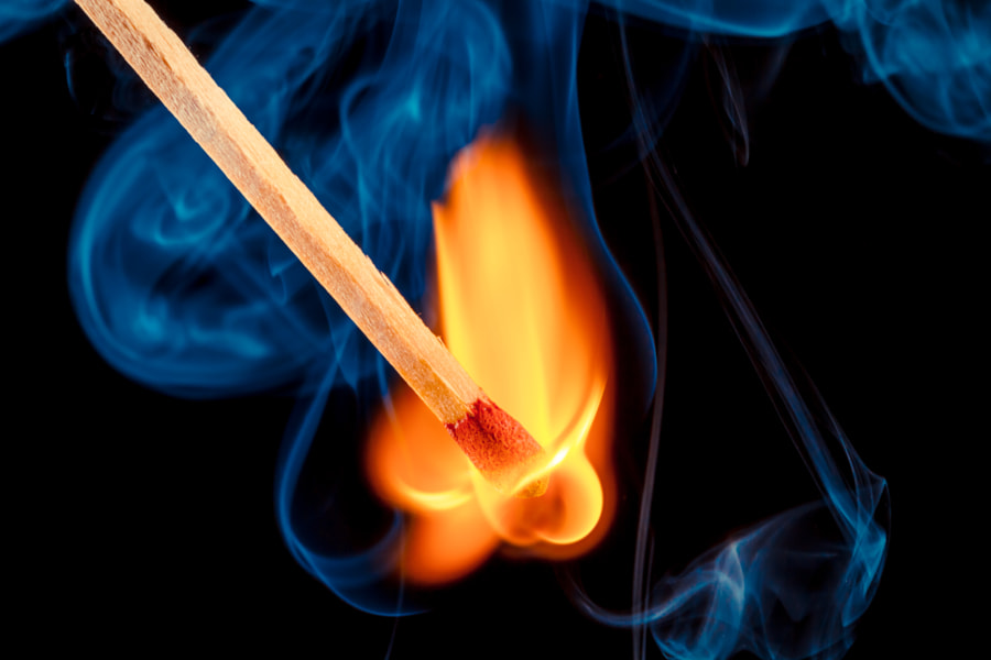 Photograph Beyond The Flame by Tc Morgan on 500px