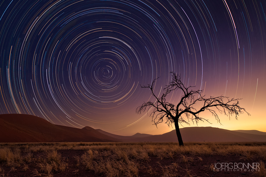 Photograph A Desert's Sky by Joerg Bonner on 500px