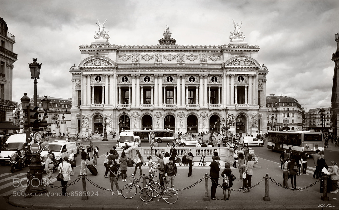 Photograph The Palais Garnier by Viktor Korostynski on 500px