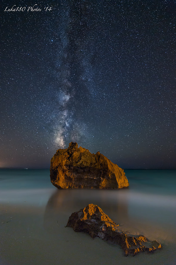 Milkyway on the rocks