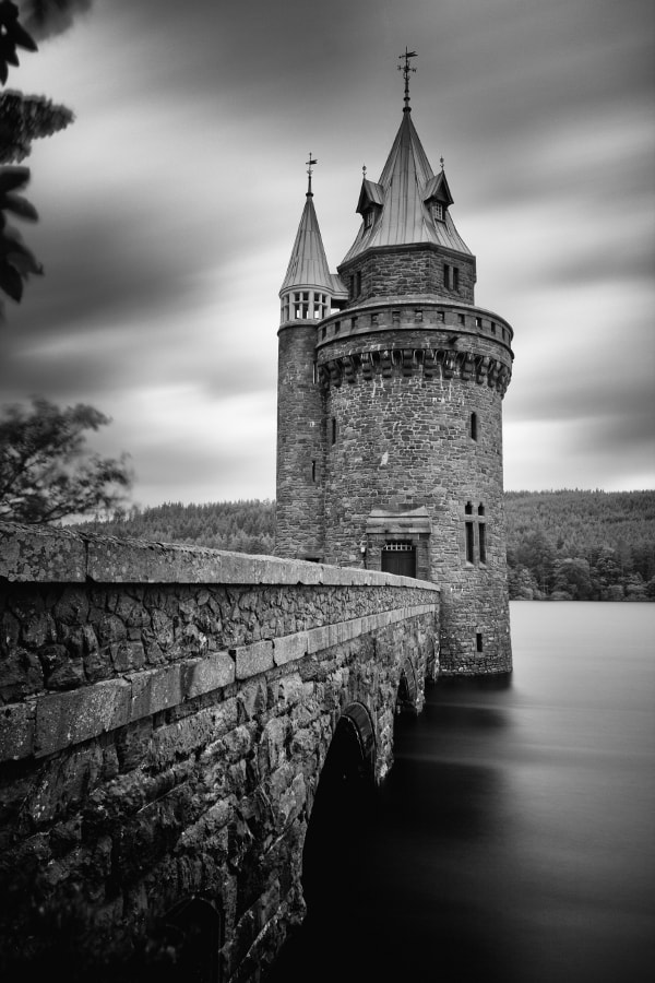 Photograph Lake Vyrnwy Straining Tower by Anthony Owen-Jones on 500px