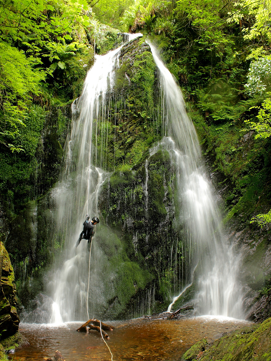 Photograph Waterfall Abseil by Jonathan Hand on 500px