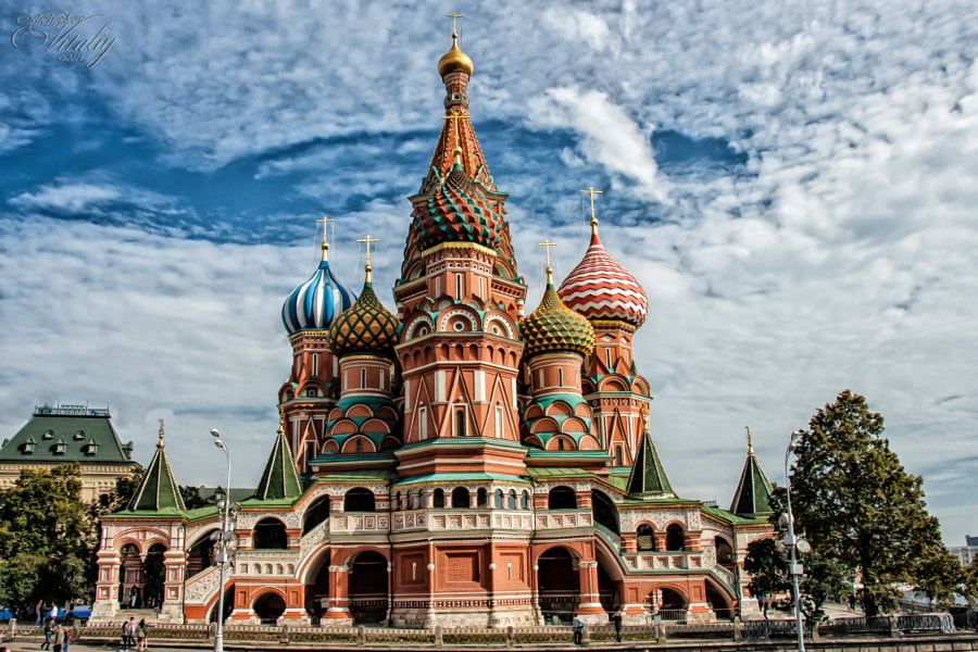 Saint Basil's Cathedral by Vitaly Oshchepkov on 500px.com
