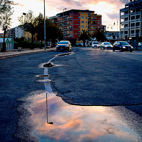 reflected in the puddle by Antonio Cutrona (cutter)) on 500px.com