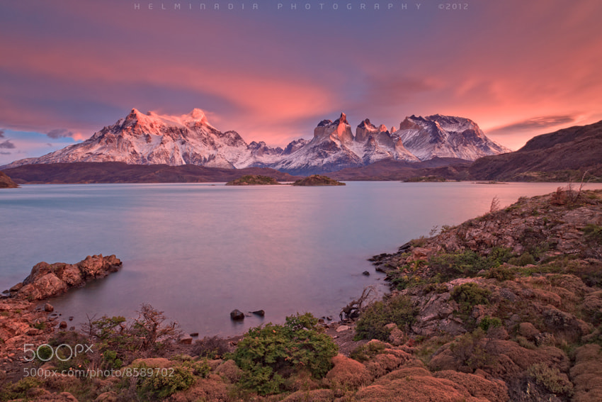Photograph Pehoe,Chile by Helminadia Ranford on 500px
