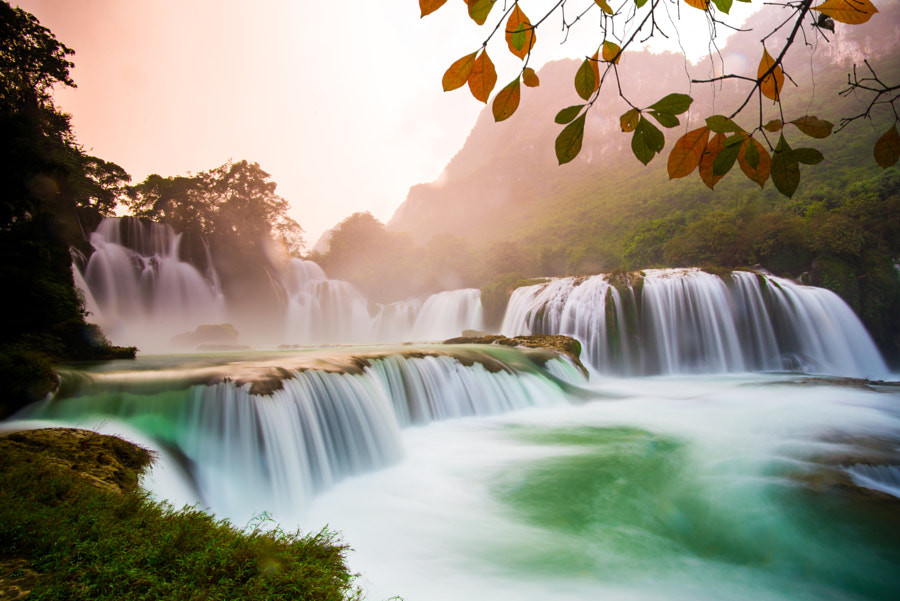 Ban gioc waterfall in Cao Bang, Vietnam by Meo Gia on 500px.com