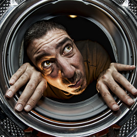 What's wrong with this washing machine ? by Vincent Montibus (VincentMontibus) on 500px.com