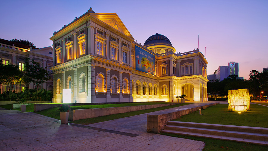 Photograph Night at the Museum by WK Cheoh on 500px