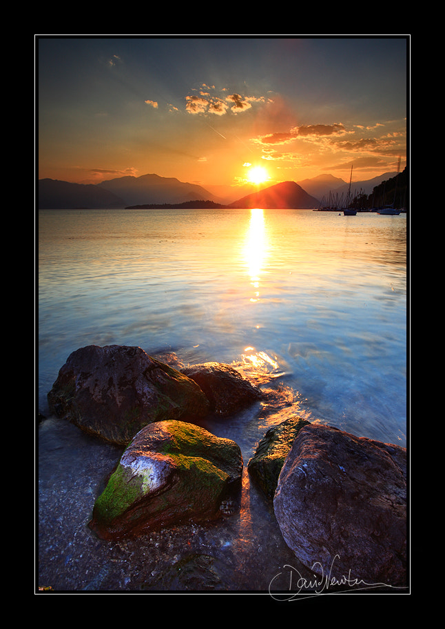 Photograph Lake Maggiore sunset by Dave Newton on 500px