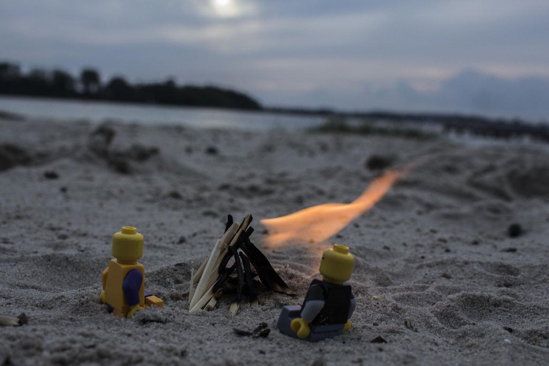 LEGO on the beach