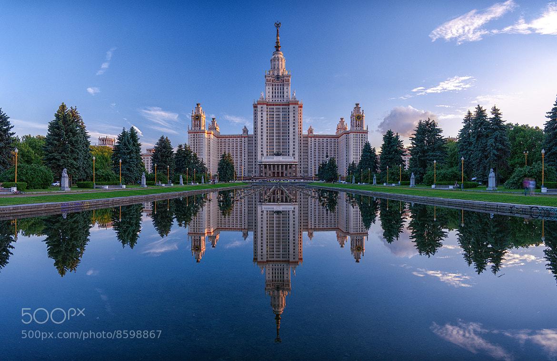 Photograph Moscow State University by Alexei Zaripov on 500px