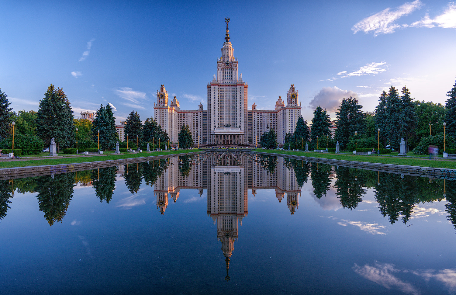 Photograph Moscow State University by Alexei Zaripov on 500px