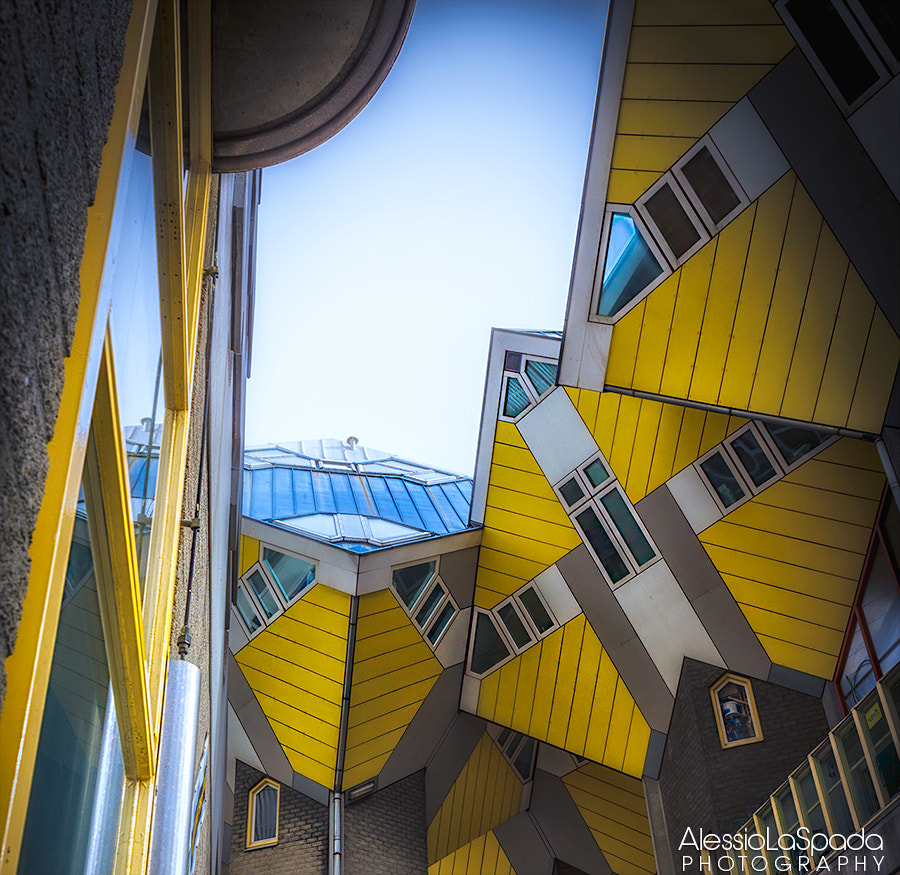 Photograph Kubuswoning (Cubic Houses) in Rotterdam by Alessio La Spada on 500px