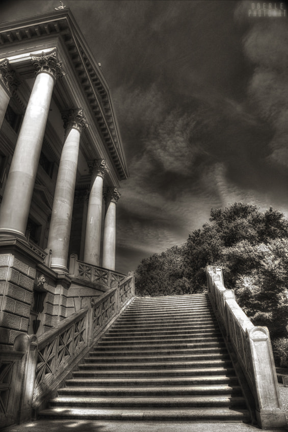 Photograph stairs by Frank & Judith Oberle on 500px