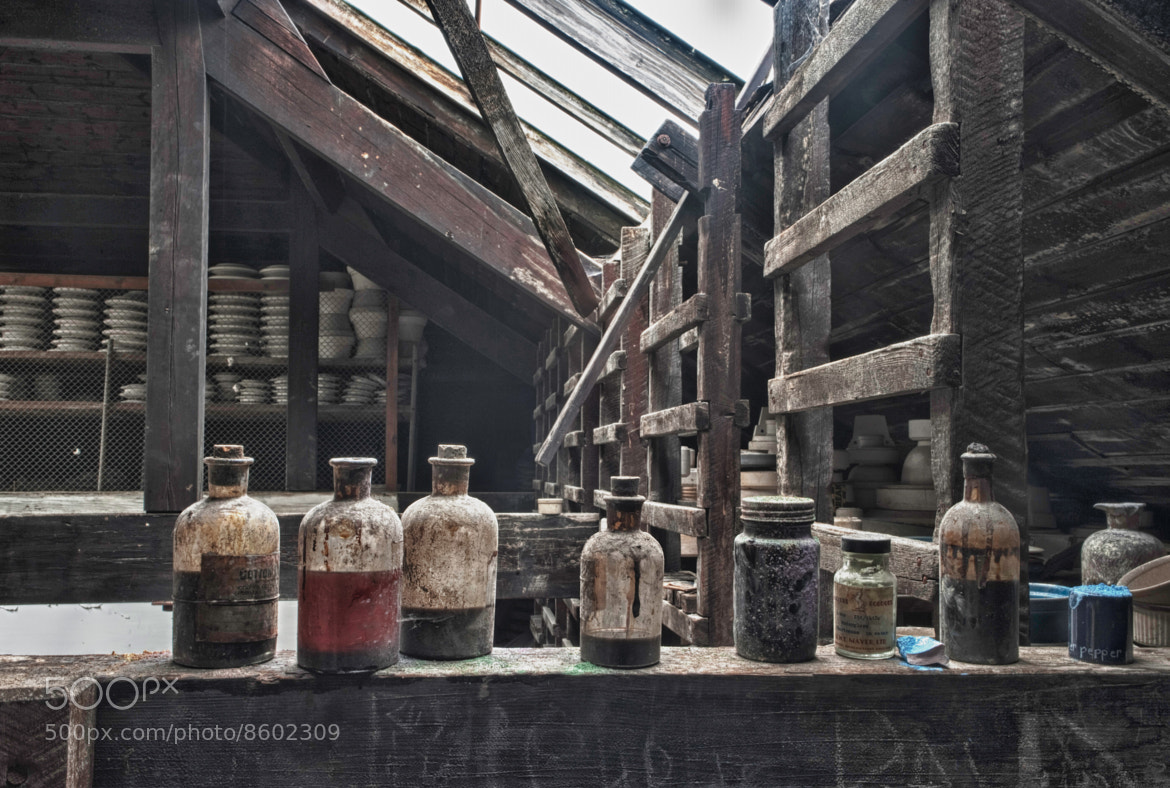Photograph Pottery Colors by Adam Johnson on 500px