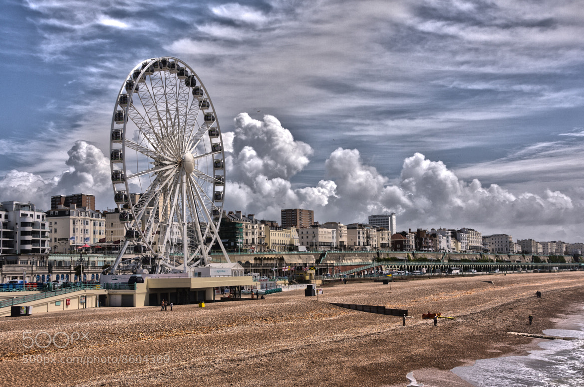 Photograph Brighton Beach and Wheel by David Asch on 500px