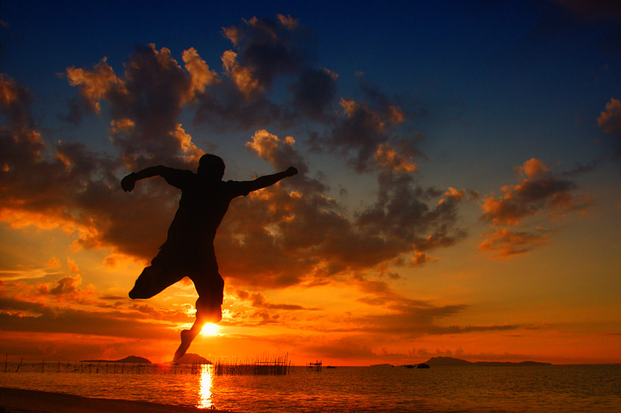 Photograph SUNSET JUMP by Assoka Andrya on 500px