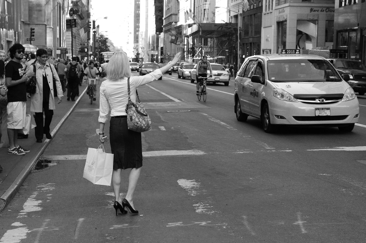 Photograph The art of Hailing a Cab by Petri Olderhvit on 500px