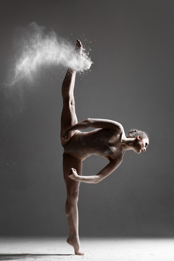 Photograph dancer and flour by Alexander Yakovlev on 500px