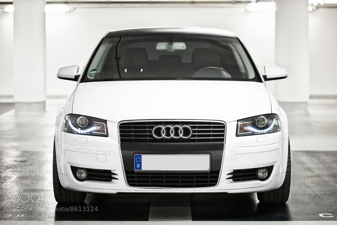 Photograph Audi A3 front by Arne Westphal on 500px