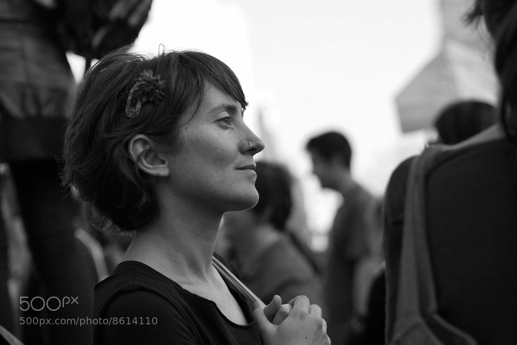Photograph Half-smile in the crowd by Eduardo Páramo on 500px