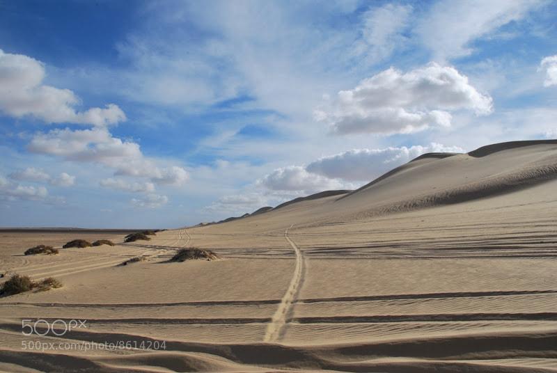 Photograph Skies & Desert by Sam Azmy on 500px