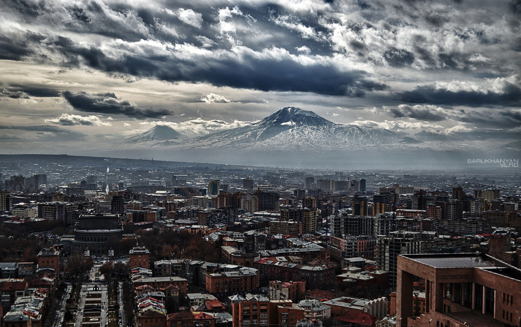 Photograph Ararat & Yerevan by Vlad Sarukhanyan on 500px