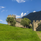 Постер, плакат: Castello Montebello Bellinzona Switzerland