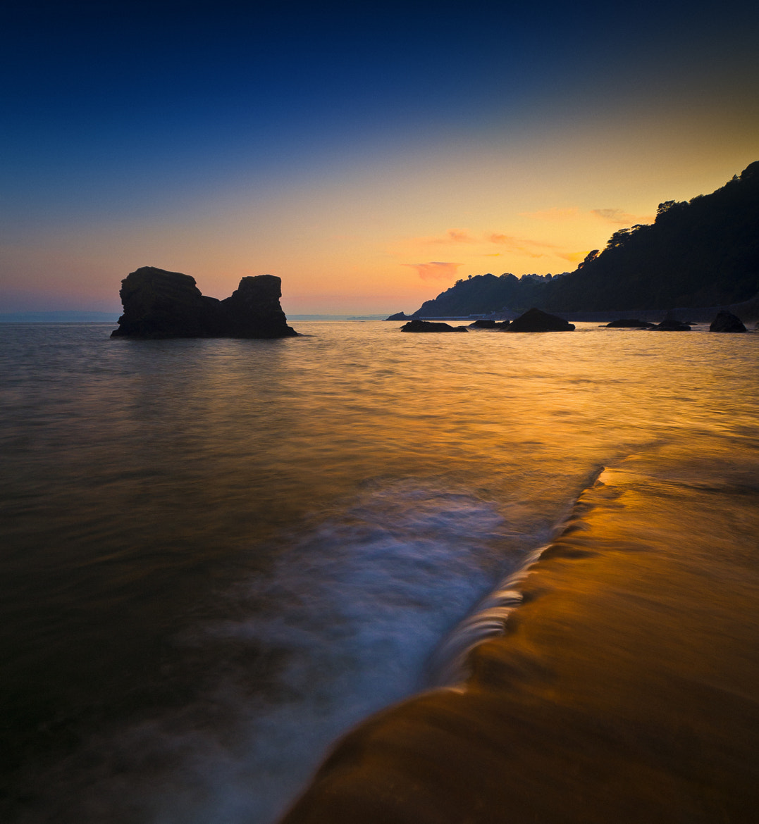 Photograph Meadfoot beach at sunset 2 by Mark Frost on 500px